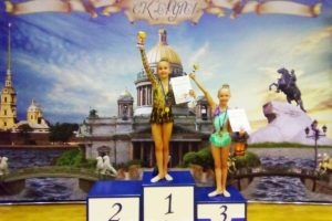Гимнастки в Петербурге
