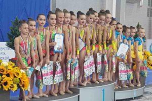 Соревнования по художественной гимнастике «Весна»
