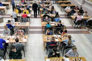 соревнования по шахматам «Белая Ладья» среди учащихся