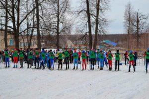 в с.Шентала состоялись областные массовые соревнования «Шенталинская лыжня»