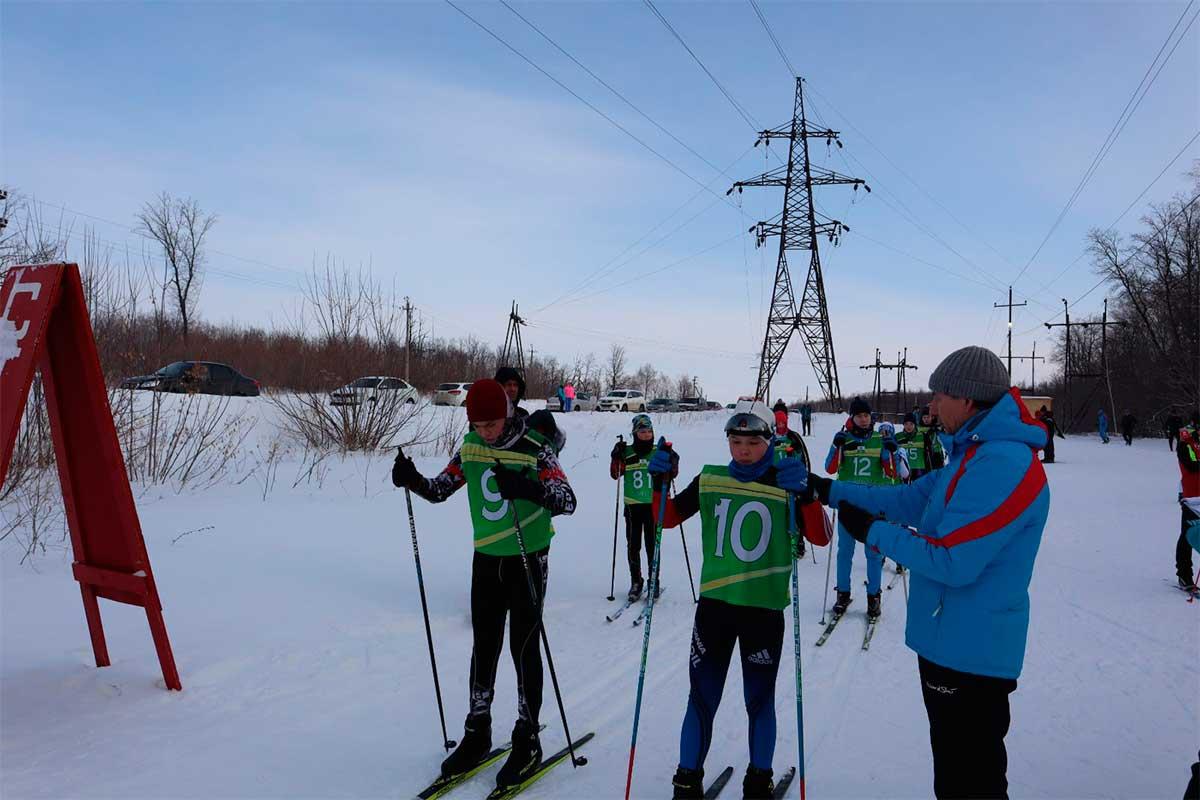 открытые соревнования по лыжным гонкам