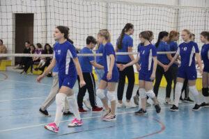 Районные соревнования по волейболу среди девушек