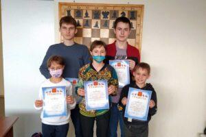 Победители шахматного чемпионата