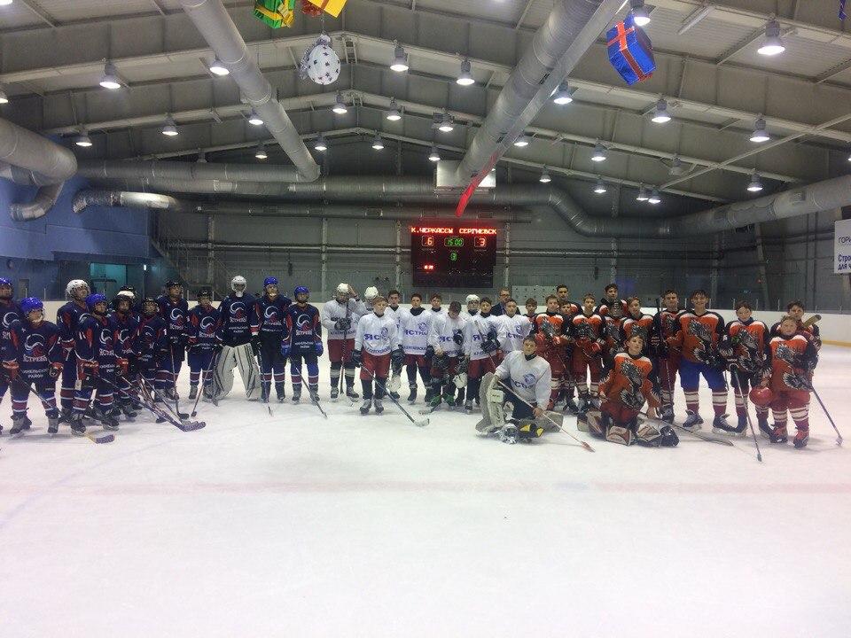 1-этап турнира «Золотая шайба»