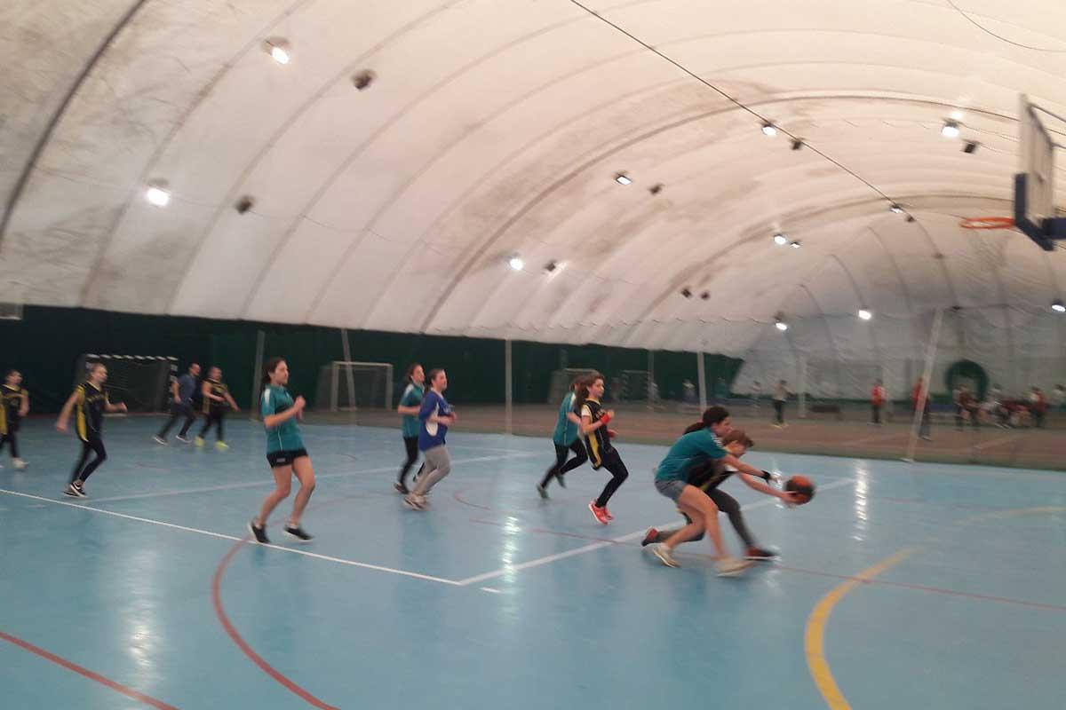 Спартакиада по баскетболу