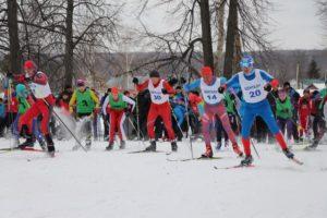Шенталинская лыжня