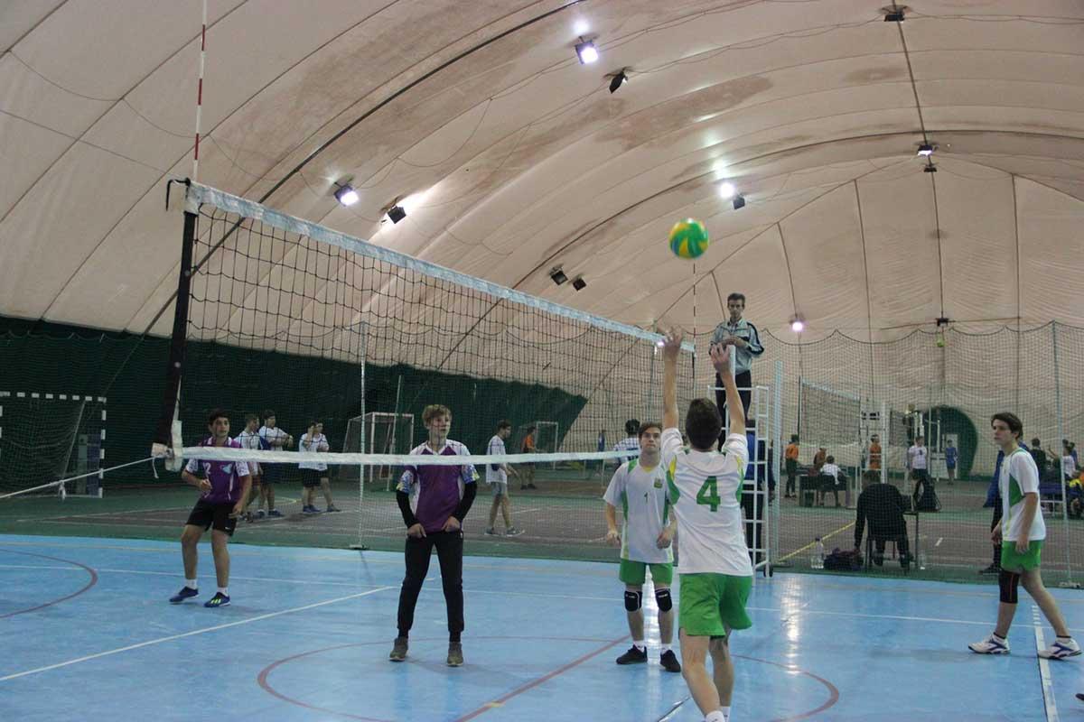 Волейбол. Спартакиада учащихся