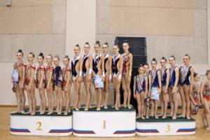 Соревнования городского округа Самара по художественной гимнастике