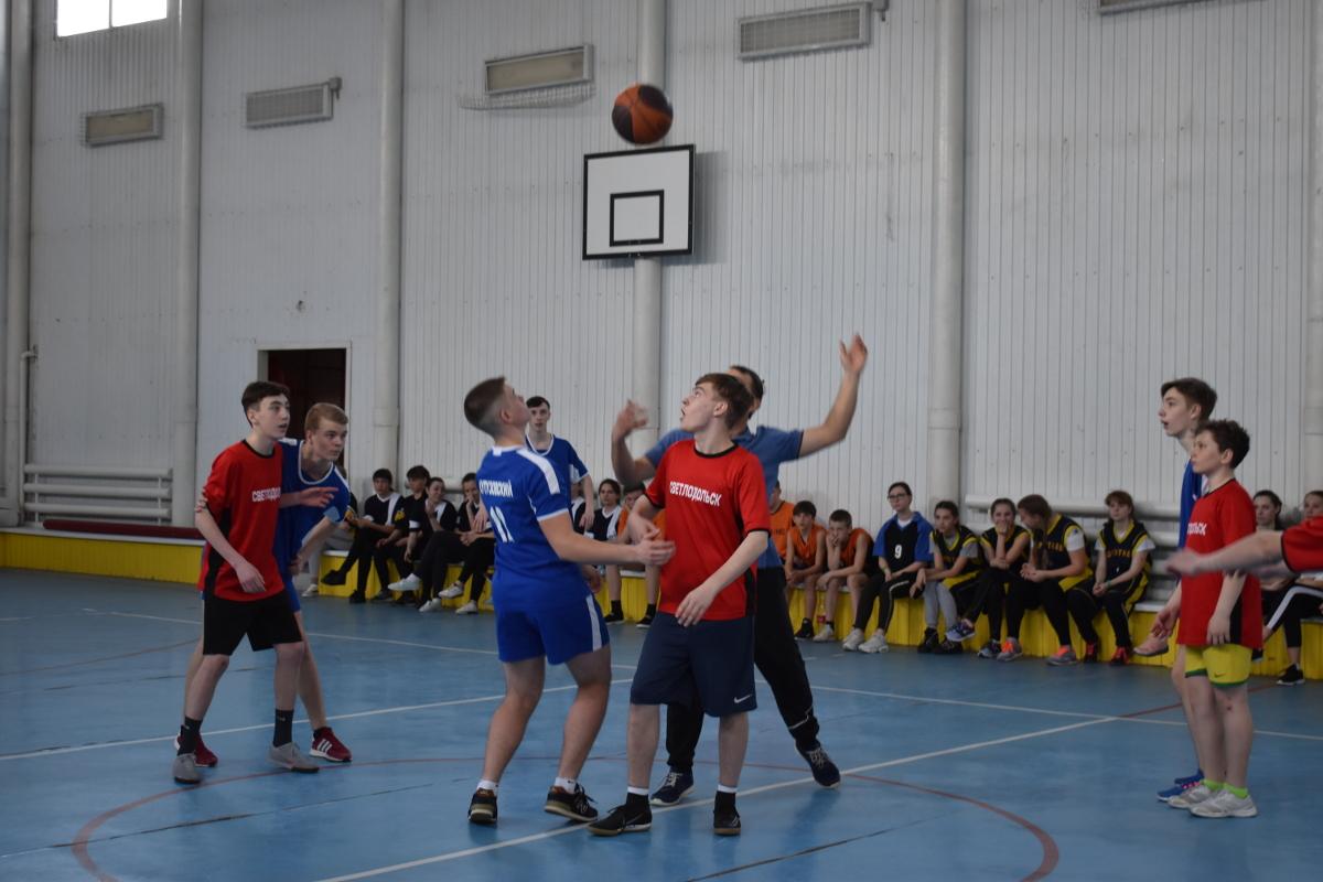 соревнования по баскетболу в зачет районной спартакиады школьников
