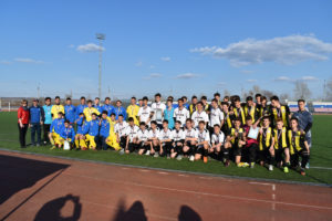 открытый турнир по футболу