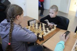 открытые соревнования СП «ДЮСШ» по шахматам