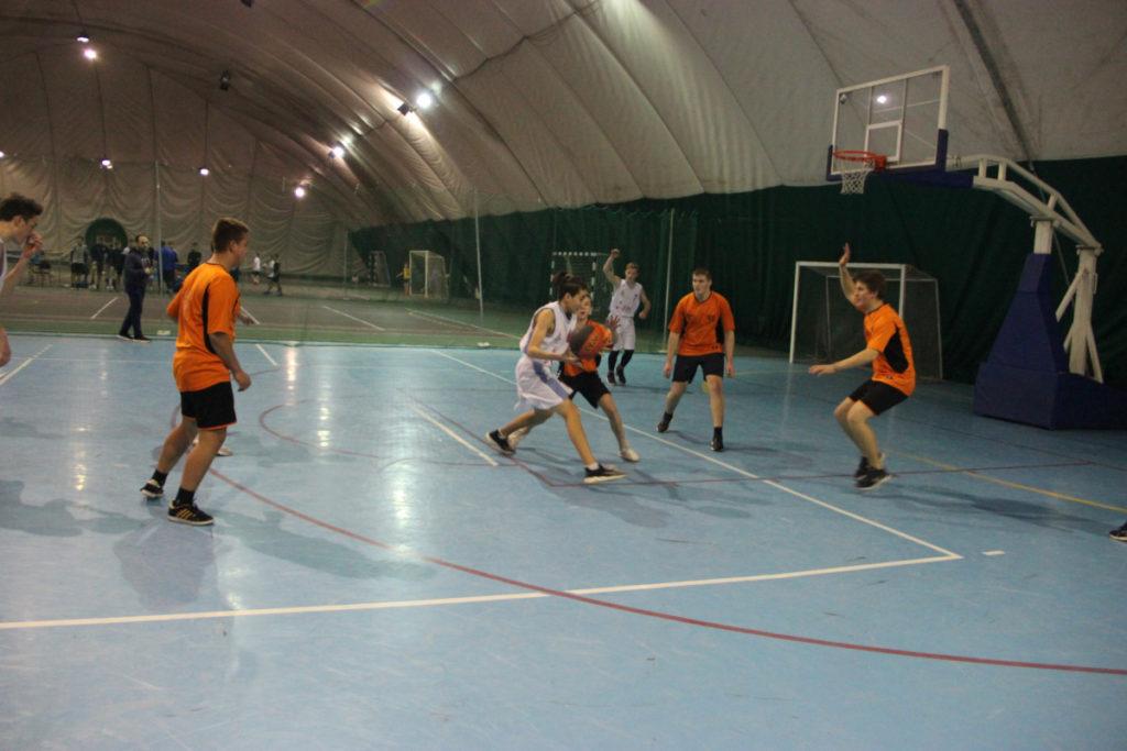 емпионат Школьной баскетбольной лиги «КЭС-Баскет»
