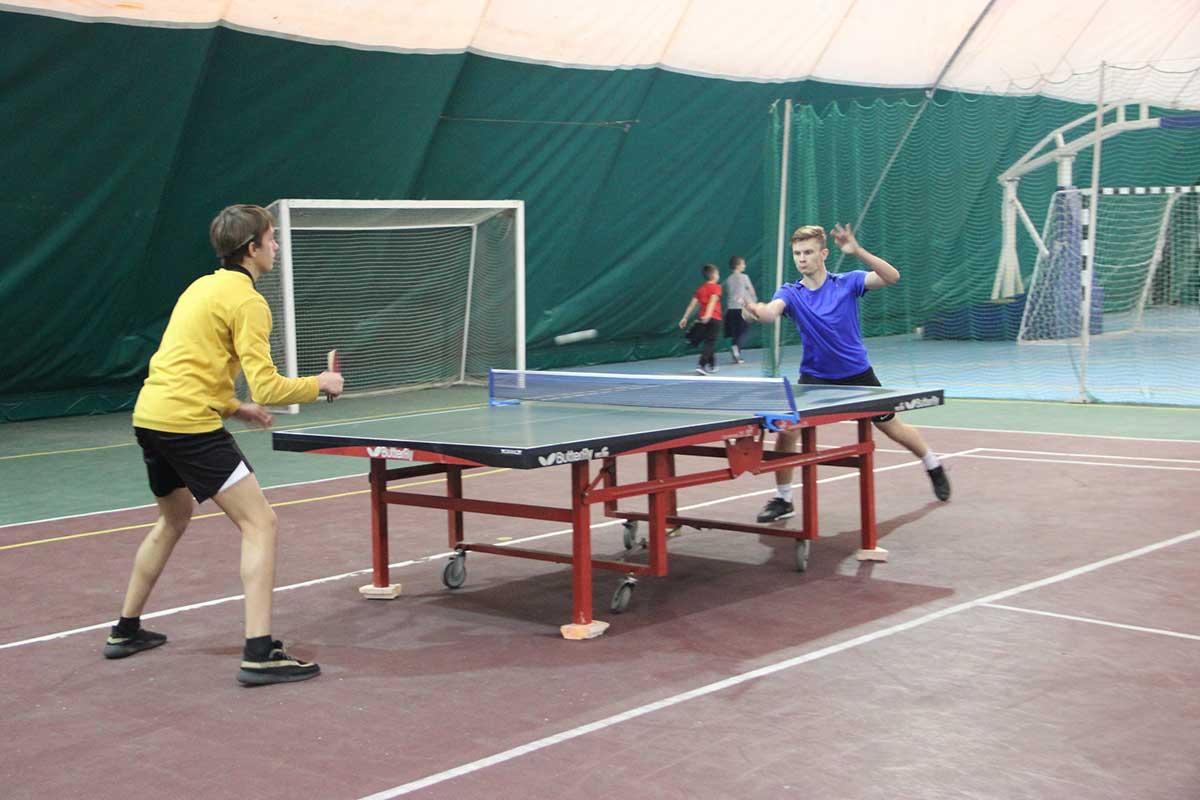 Открытый турнир муниципального района по настольному теннису