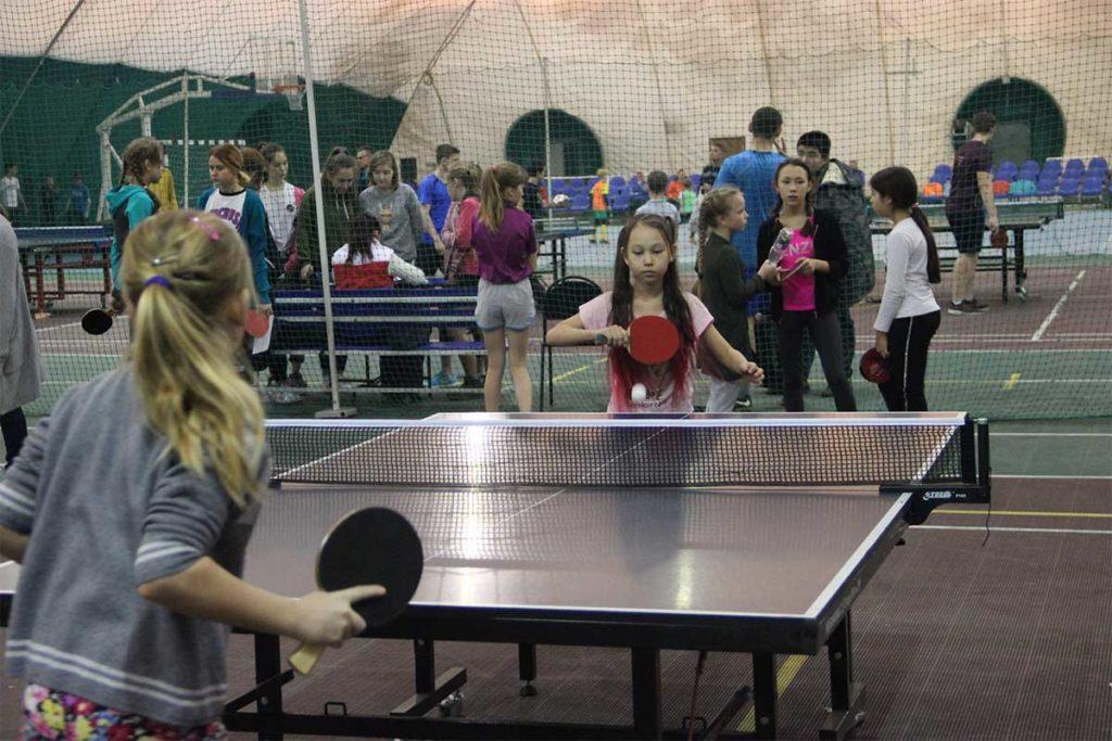 турнир по настольному теннису, посвященный Сергию Радонежскому
