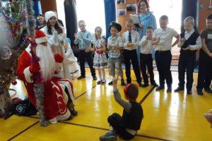 Праздничная новогодняя программа для учащихся боксерского клуба «Ринг»