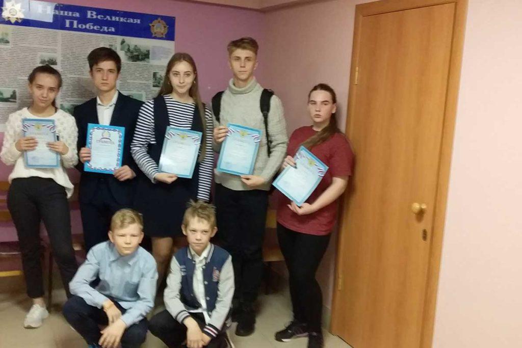 Лучшие юные стрелки Сергиевского района