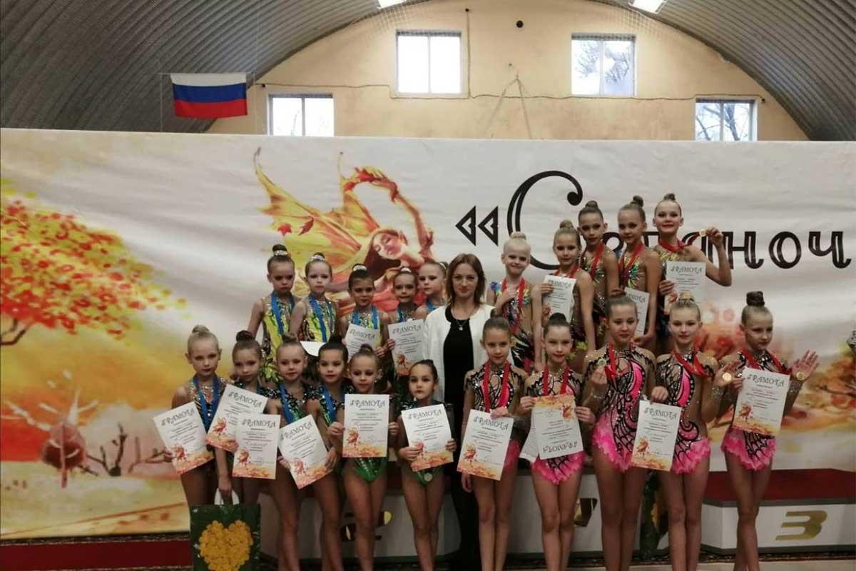 На турнире «Селяночки» наши юные гимнастки были лучшие!