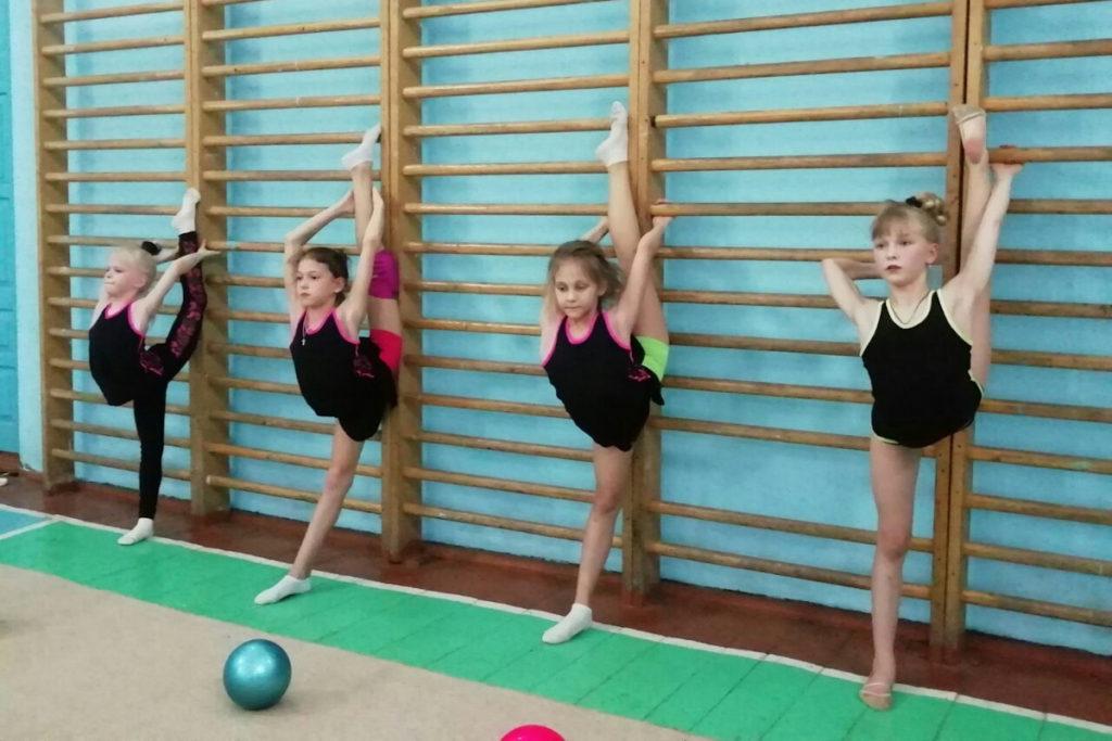 Учебно-тренировочные сборы по художественной гимнастике