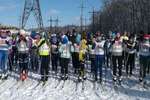 лыжным гонкам Спартакиады учащихся