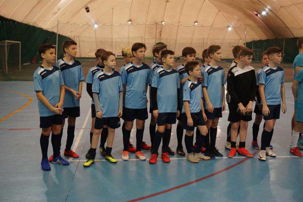 соревнований по мини-футболу среди учащихся