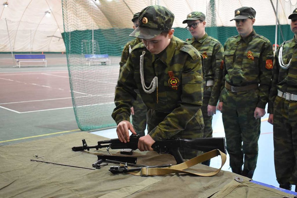 районный этап военно-спортивной игры «Зарница Поволжья»